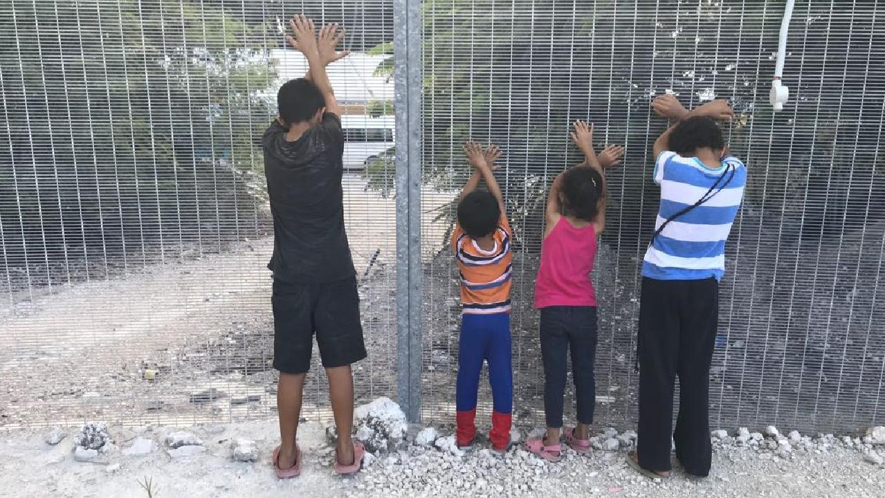 There is growing anger in the community about the conditions children live in on Nauru.