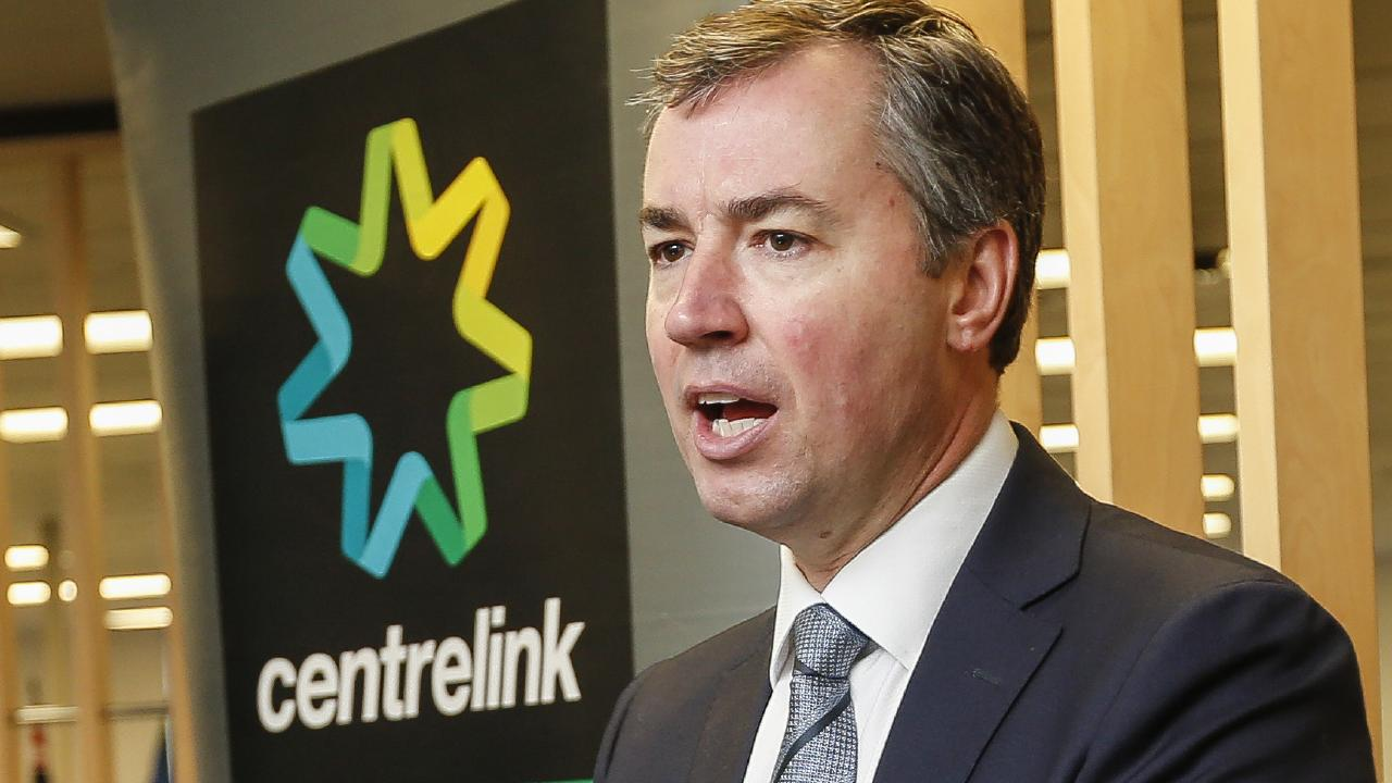 Human Services Minister Michael Keenan aims to make it easier to call Centrelink by outsourcing call centre staff. Picture: Valeriu Campan