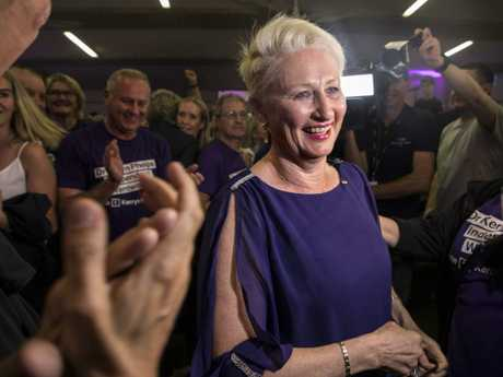 Kerryn Phelps' win in Wentworth has caused major issues for the Coalition. Picture: AAP