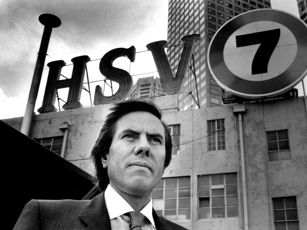Christopher Skase around the time he owned Channel 7 in 1988. Picture: Supplied