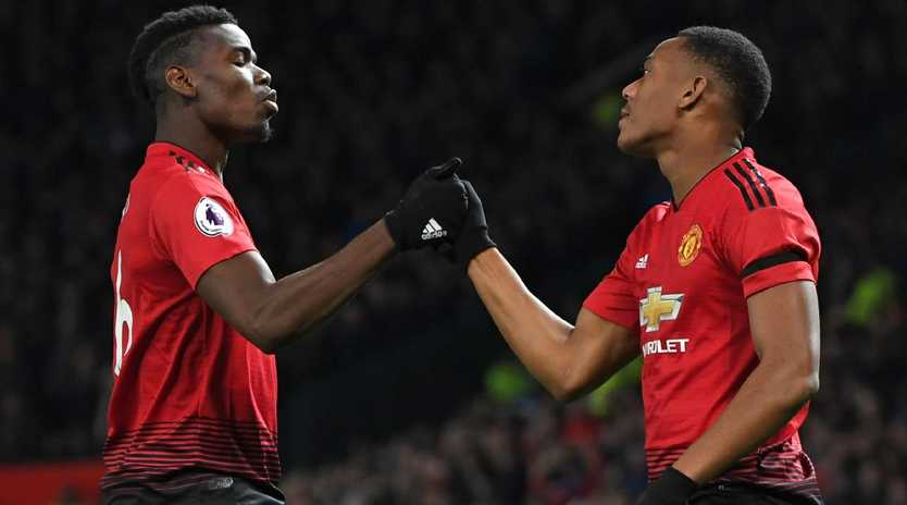 Paul Pogba and Anthony Martial were the heroes for Manchester United.