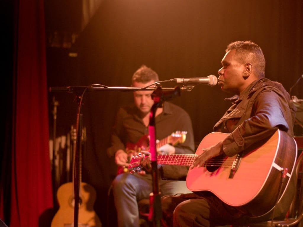 Gurrumul's debut album put indigenous language on the global pop charts. Picture: Supplied