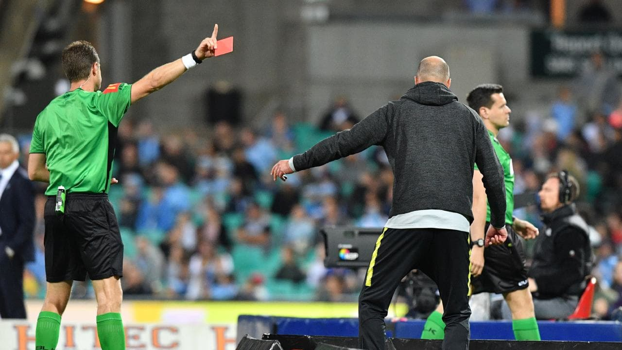 Markus Babbel gets his marching orders on Saturday night.