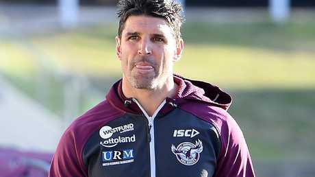 Trent Barrett had planned to turn up for work but didn't show. Picture: AAP