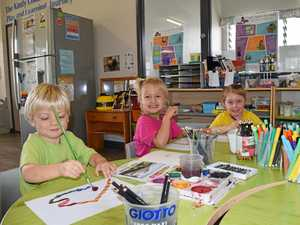 Tinana kindy gets drawing for Craftfest