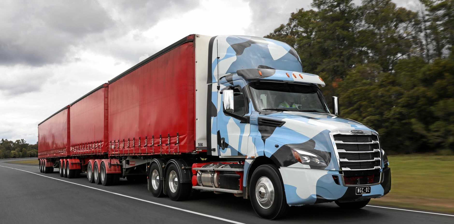 Freightliner will debut their eagerly anticipated Cascadia at the Big Boys Toys event