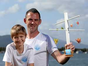 Son's dismay sparks plan to regrow Barrier Reef