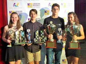 Student athletes' hard work recognised