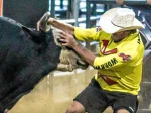 Champion bullfighter shares his life in the rodeo ring