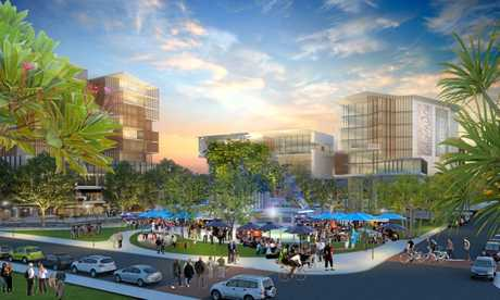 PLANS: The visions for the new Caloundra CBD.