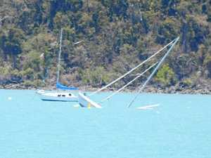 Catamaran sinks off Port of Airlie