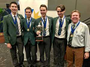 Sunshine Coast Grammar School debating teams dominate