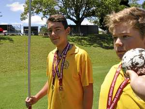 Young Toowoomba throwers among state's best