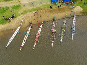 Dragon boats like you've never seen them before
