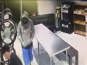 WATCH: Thieves rob city laundromat of cash, coins