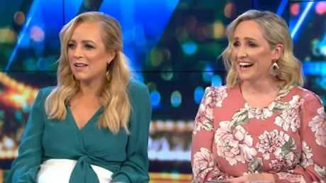 Hosts Carrie Bickmore and Fifi Box were stunned by Ritchie's confession