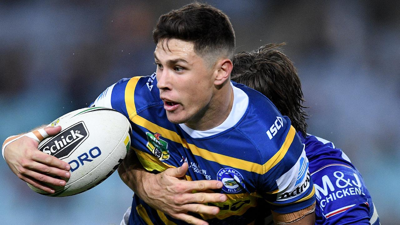 Parramatta's Mitchell Moses is off contract at the end of next season. Picture: AAP