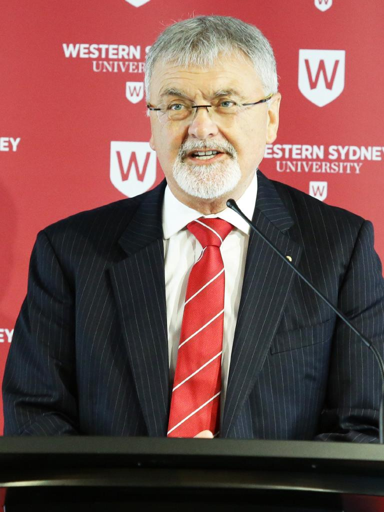 UWS chancellor Peter Shergold is one of the experts who will be on the panel.