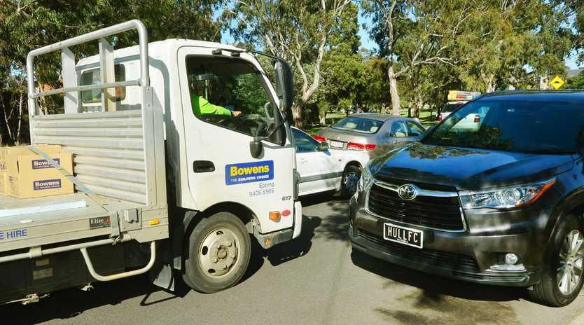 Some Heidelberg residents are sick of trucks. Picture: Carmelo Bazzano