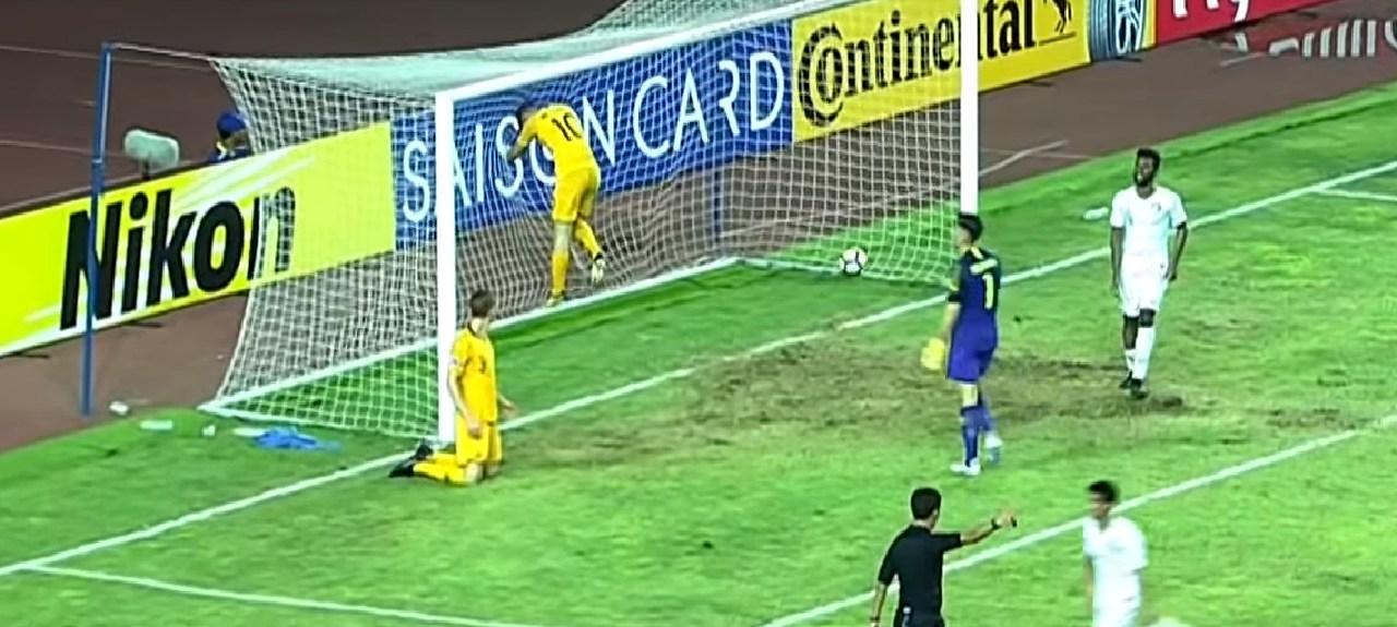 Young Socceroos concede a goal