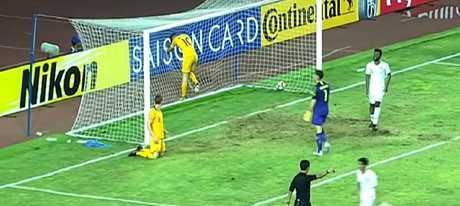 Young Socceroos concede a goal