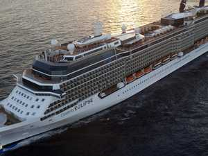 Luxury cruise ship heading to Australia