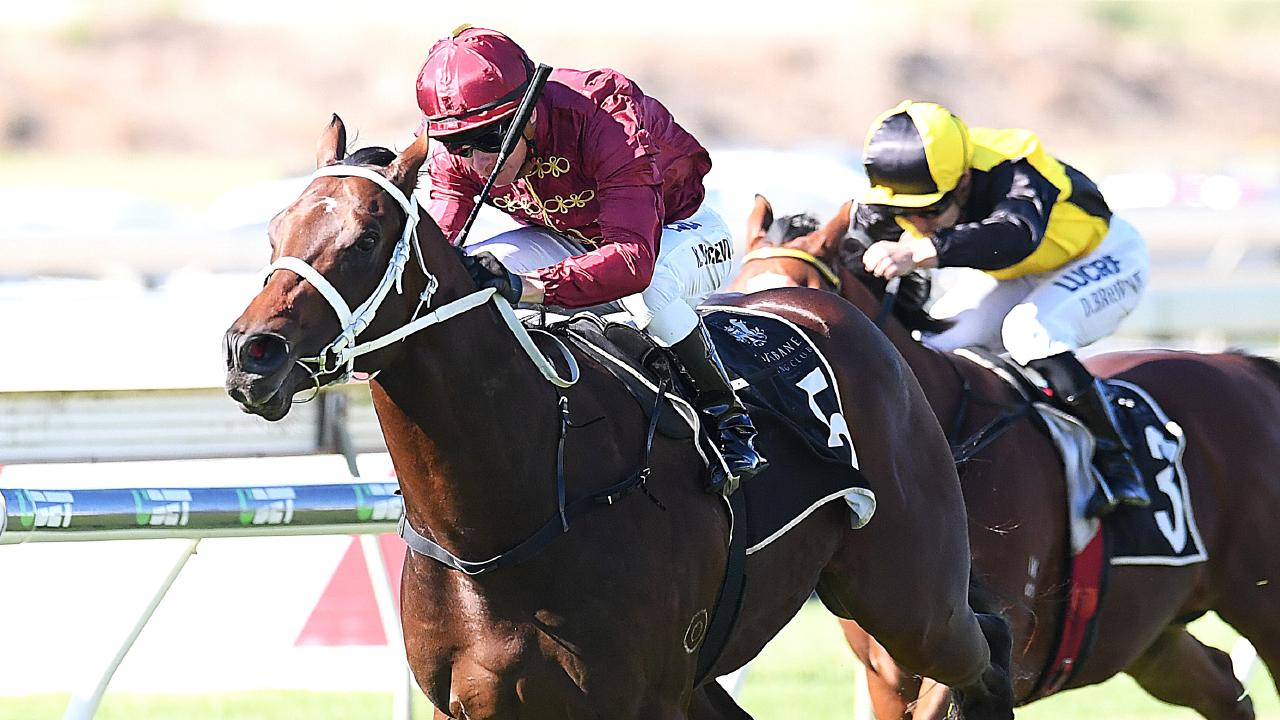Zousain is favourite to win the Coolmore Stud Stakes this Saturday. Picture: AAP