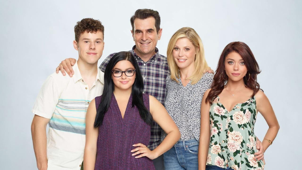 Don't base your expectations of family life on social media or TV shows like Modern Family. You'll be setting yourself up for disappointment. Picture: Supplied/Seven.