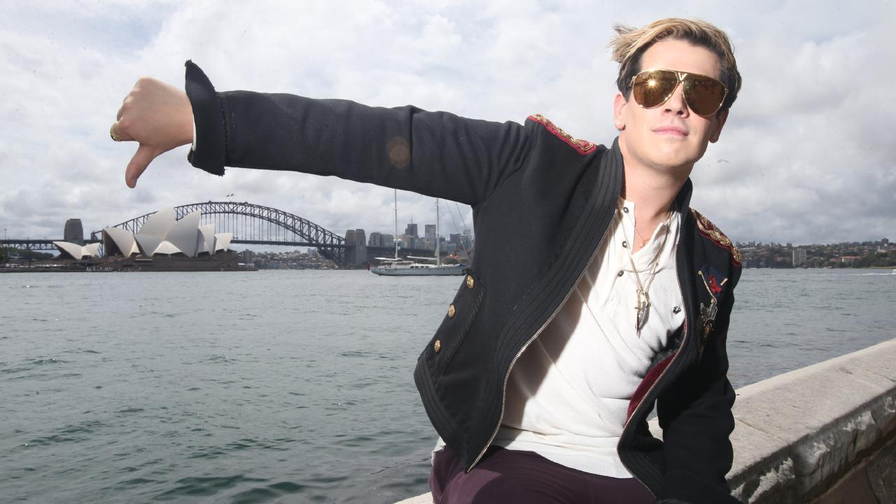 Milo Yiannopoulos was reportedly in talks to tour Australia but negotiations broke down. Picture: Nathan Richter