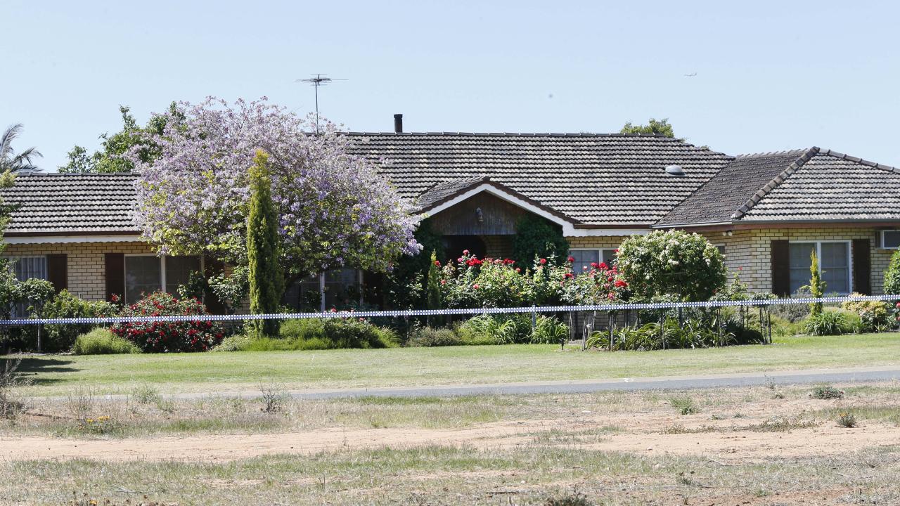 The grandmother's home in Red Cliffs near Mildura. Picture: David Caird