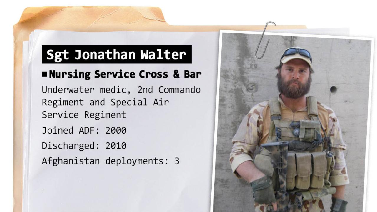 Sergeant Jonathan Walter was one of the founding members of Voodoo Medics.