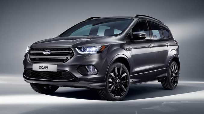 Ford Escape ST-Line. Picture: Supplied.