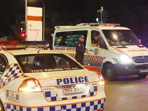 Police cars rammed after dramatic chase ends in arrest