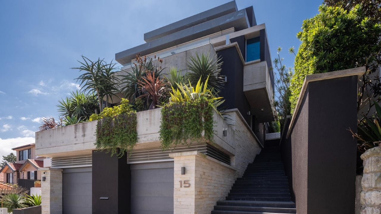 15 O'Donnell St has been described as 'the best house in Bondi'.