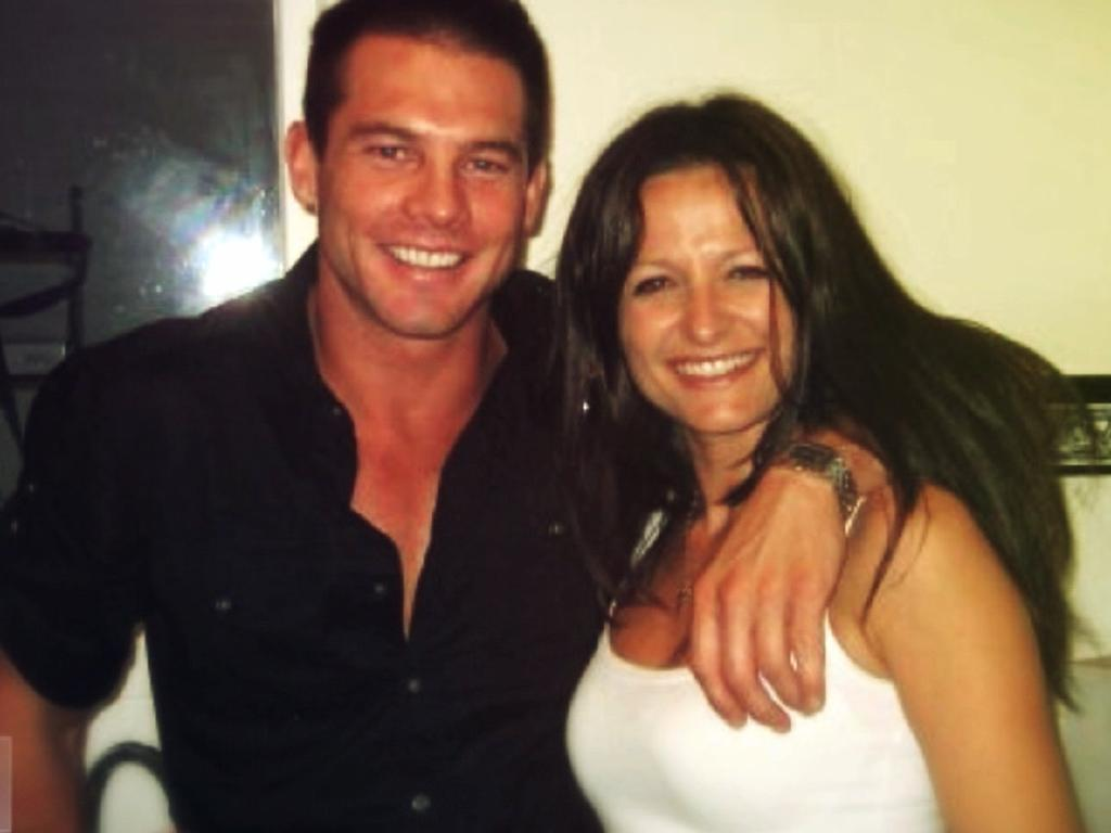 Maylea Tinecheff and Ben Cousins as seen on Channel 7's Sunday Night.