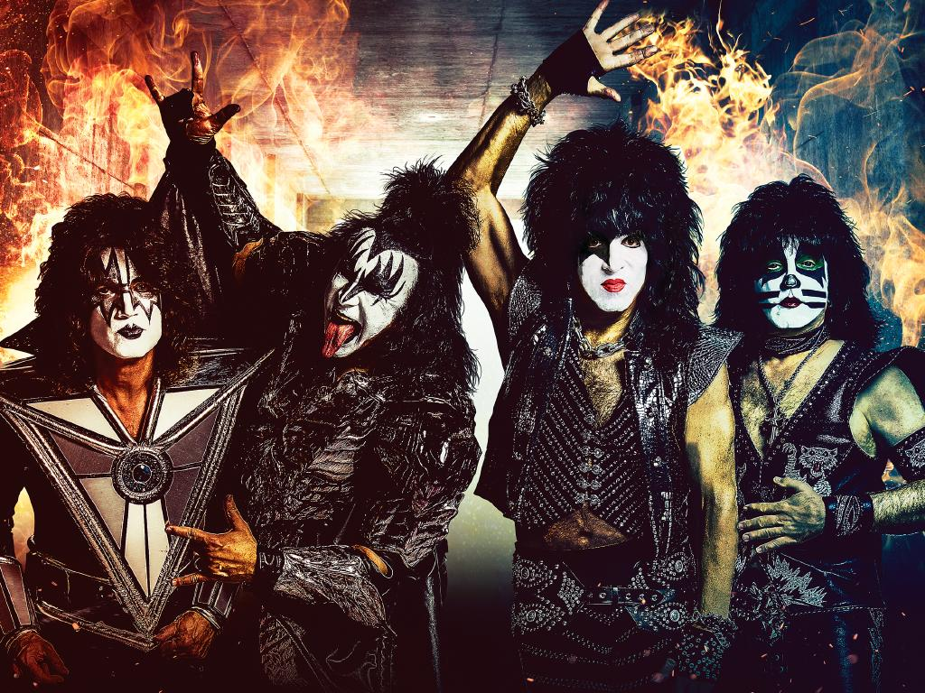 Kiss have officially come to the End of the Road. Pic: supplied