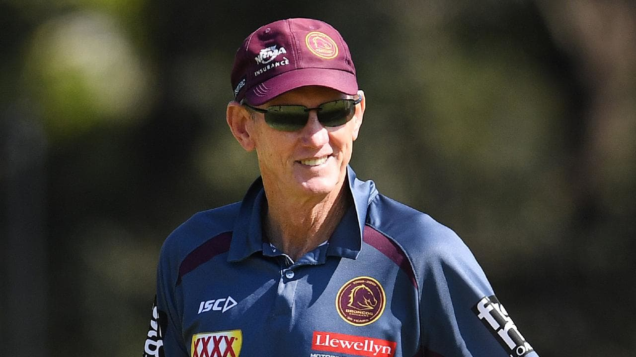 Brisbane Broncos coach Wayne Bennett has already signed on to coach Souths from 2020. Picture: AAP Image/Dan Peled