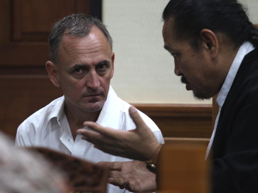 Michael David Sode says he regrets the incident. Picture: Lukman S. Bintoro