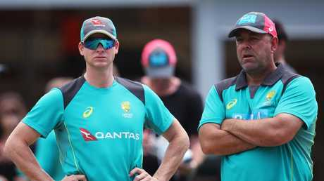 Darren Lehmann admits he worried for the banned trio. Picture: Phil Hillyard