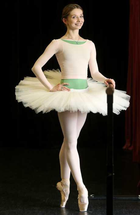 Bolshoi ballerina Evgenia Obraztsova. Picture: Tara Croser