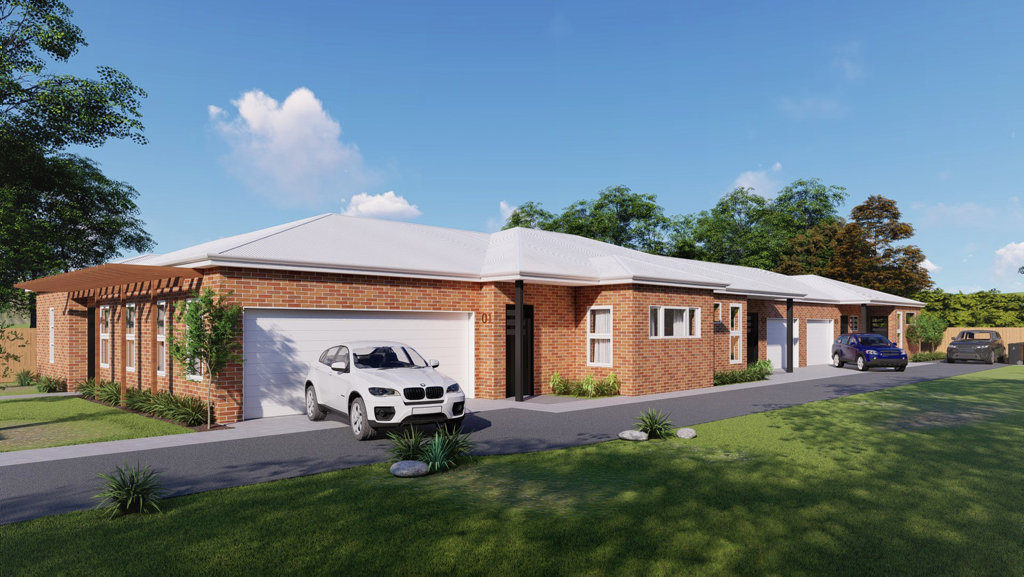 NEW HOMES: Work will begin today on new villas to cater for the shortage of housing for people with a disability in Toowoomba, thanks to CPL and property development PNL Consulting.
