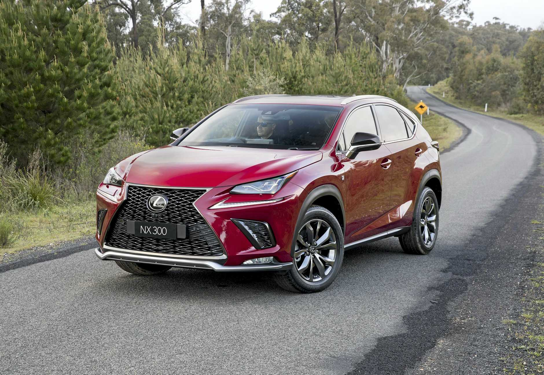 The 2018 Lexus NX. Picture: Supplied.