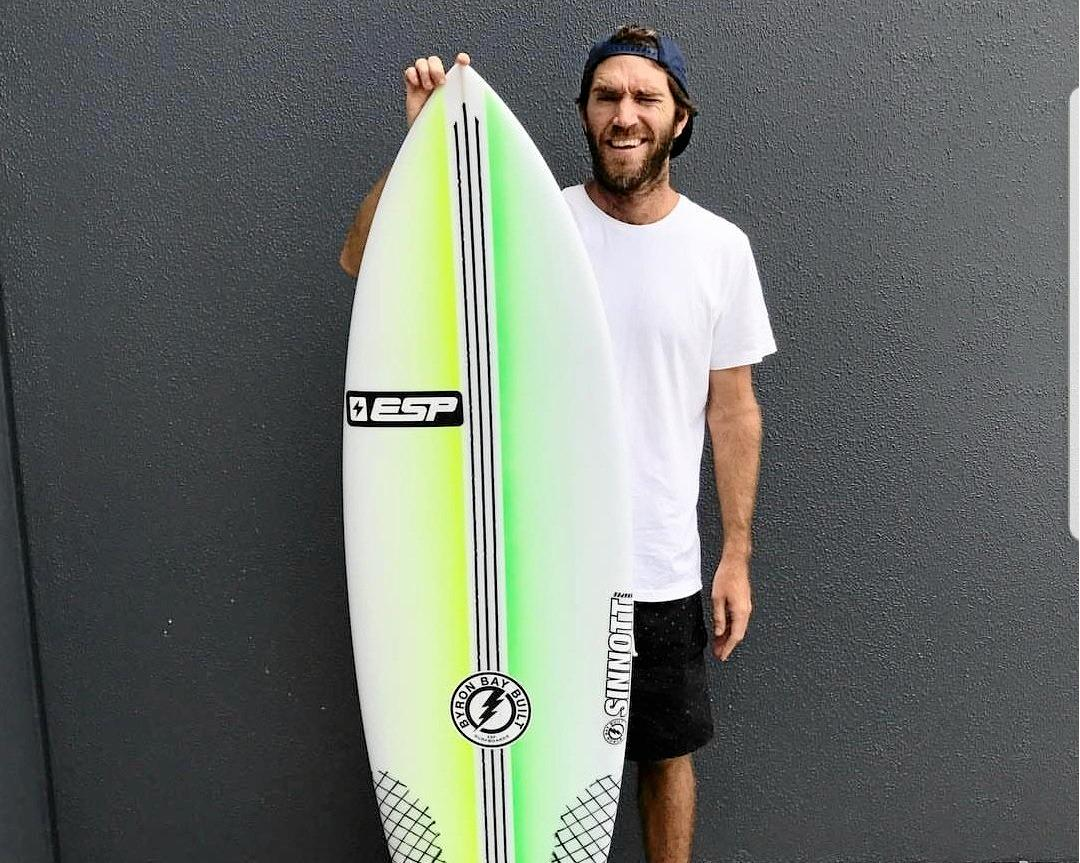 BOARDRIDERS: Luke Stickley