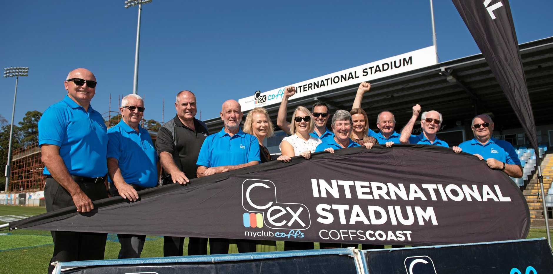 Coffs Harbour International Stadium will continue to be known as C.ex Coffs Stadium following the announcement of a new sponsorship agreement.