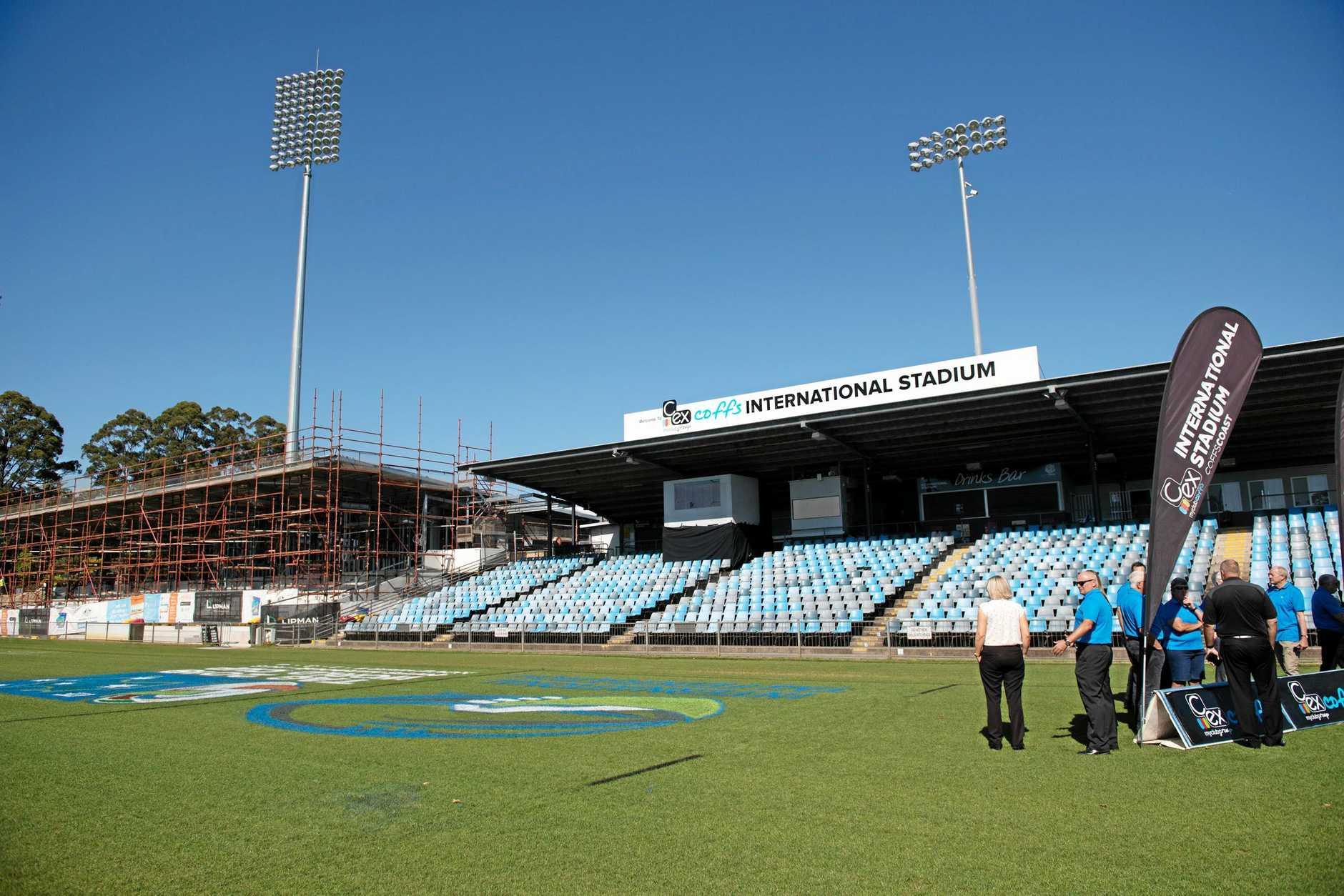 C.ex Coffs Harbour International Stadium.
