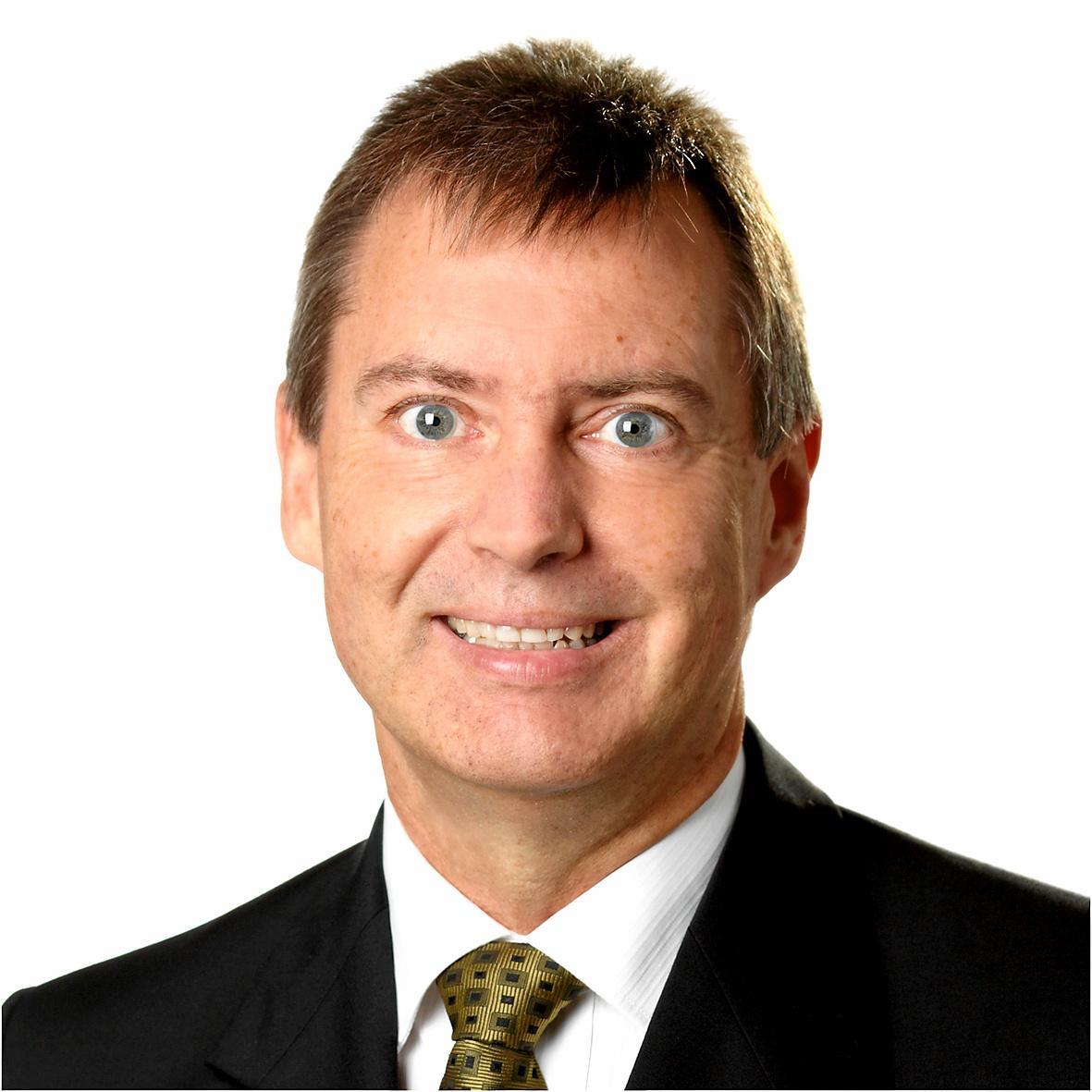 Economic development portfolio councillor Stephen Robinson.