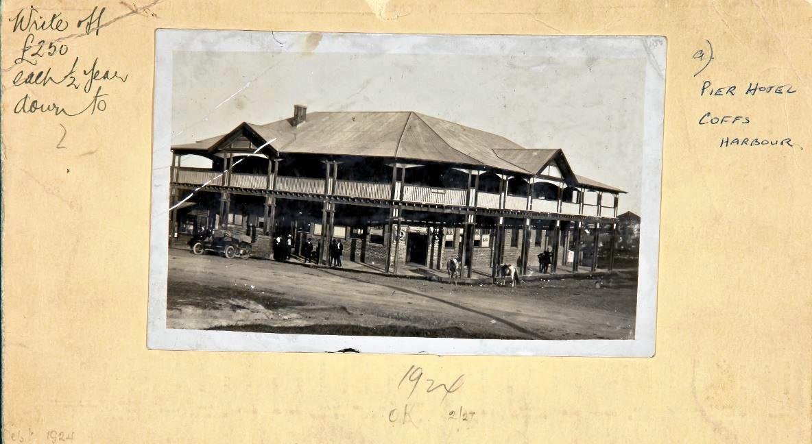The original Pier Hotel.