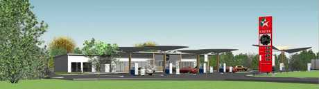 A Caltex service station has been approved to be built on Bli Bli Road at Nambour.
