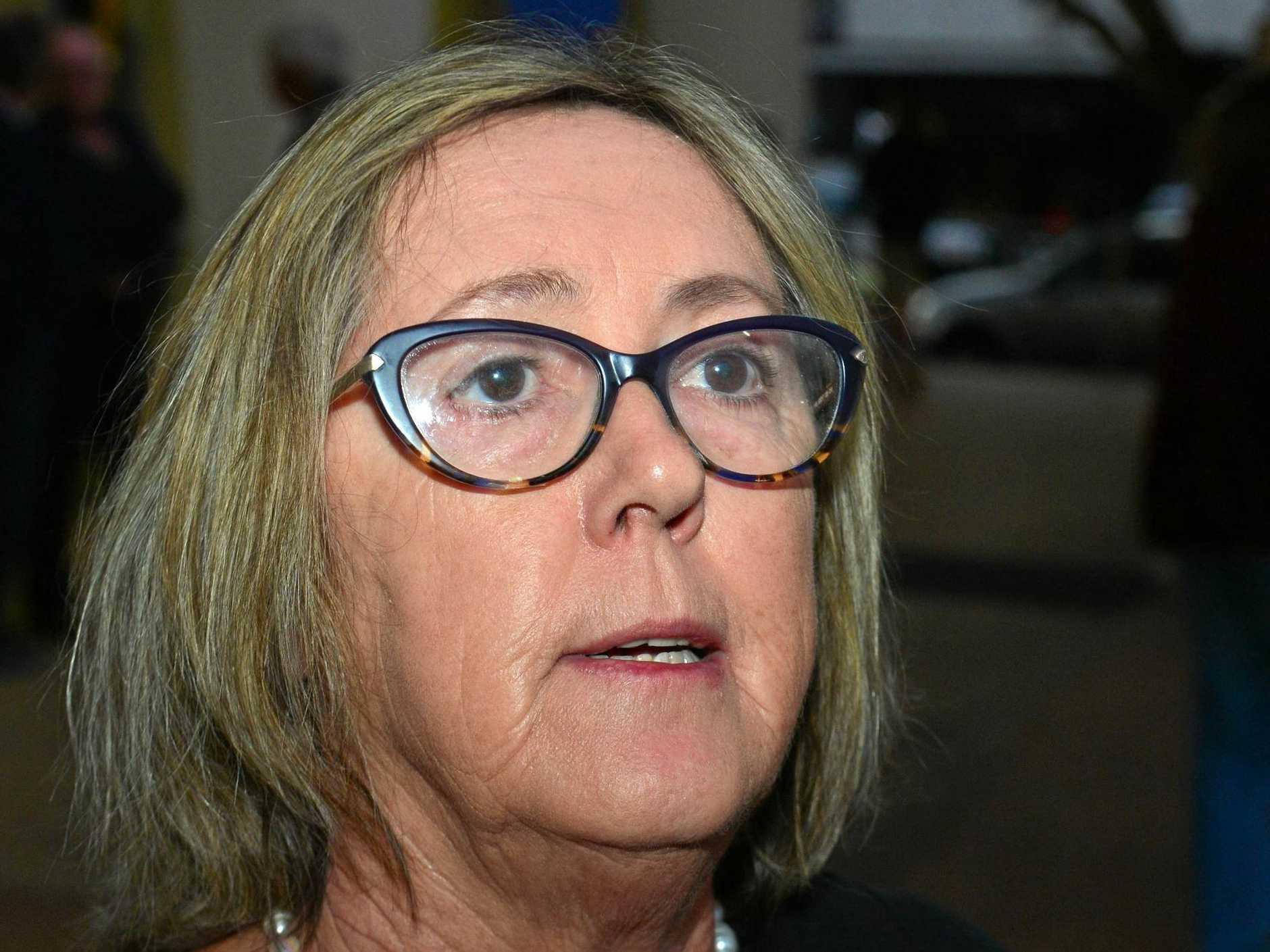 COURT ACTION : Development Watch president Lynette Saxton.