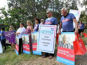 Cooinda denies Union's aged care claims at Gympie protest